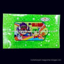 Refreshing Adhesive seal Wet Tissue (Menthol) packaging bag