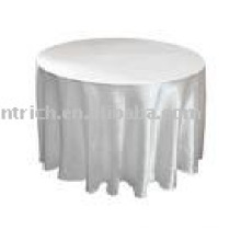 Satin Tablecloth, Banquet/hotel/wedding tablecloth