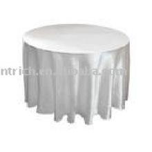 Toalha de mesa em cetim, Banquete / hotel / toalha de mesa de casamento