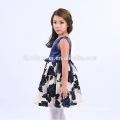2017 Модные Товары Бутик Красочные Цветы V Шеи Детей Платьях Конструкций Для 6-Летней Девочки С Самым Лучшим Ценой