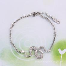 Xuping Jewelry S-Shape Fashion Bracelet