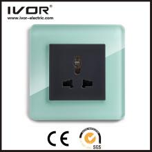 Enchufe universal Euro Conector de pared estándar Enchufe