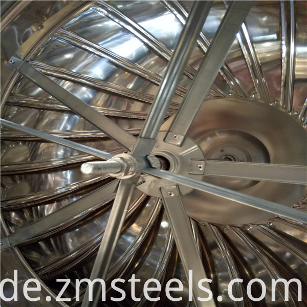 Stainless Steel Wind Driven Turbine Air Ventilator