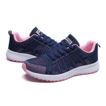 Wholesale women white casual walking running sport shoes men flat comfortable sneakers for unisex breathable
