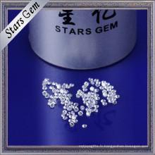 Petite zircone cubique résistante à hautes températures de 1.75mm pour le moulage de cire