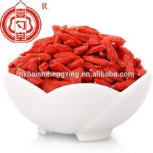 Ingredientes de la comida del goji de la baya de la fruta seca de la fruta de Goji chinos usados para la torta