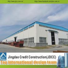 Entrepôt de structure d'acier préfabriqué bon marché