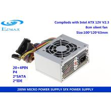 Fuente de alimentación 200W Micro ATX Fuente de alimentación SFX