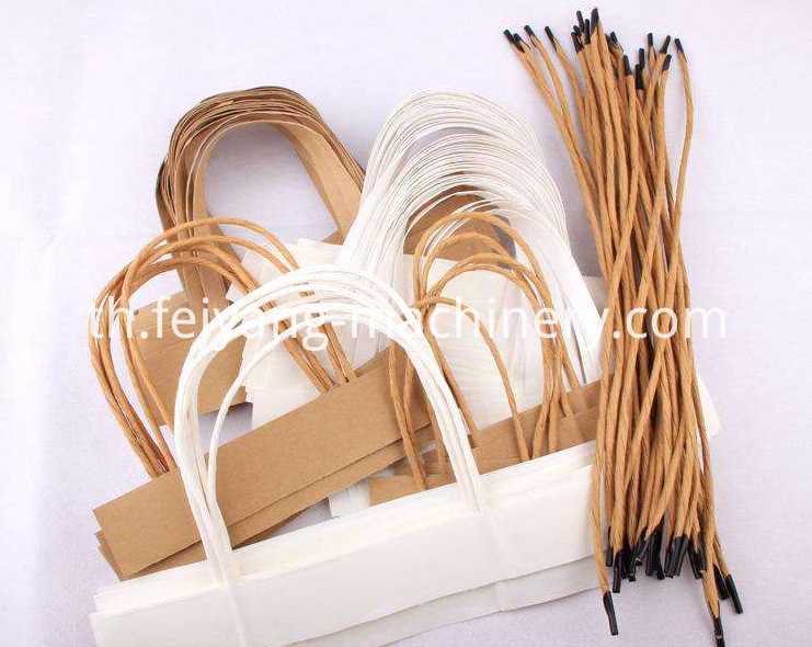 White Color Twisted Paper Cord for Bag Handles