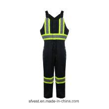 35% Baumwolle 65% Polyester High Vis schützen Arbeitskleidung Sicherheit Verschleiß Coverall