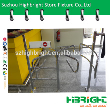 swing gate turnstile for supermarket