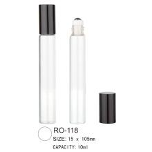 Bouteille ronde à rouleaux en plastique RO-118