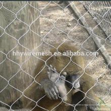 Корпус животного сетки зоопарк сетки рабицы оковкой трос сетки кабель сетки