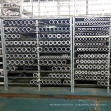 Tubo extruido de aluminio inconsútil profesional