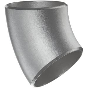 Stainless Steel Short Radius 45 Degree Elbow