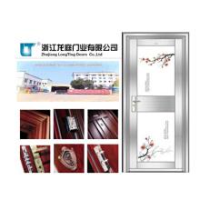 Porta de aço inoxidável de segurança de alta qualidade (LTSS-9007)