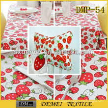 polyester/cotton colorful ready made fabric