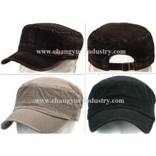 Factory OEM jeans design men fashion flat-top cap