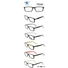 Tr90 Óptico gafas ópticas marco (TR595)