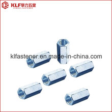Stainless Steel Long Hex Coupling Nuts DIN 6334