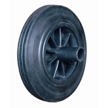 Solid Rubber Trolley Wheels PW3110(8*2)