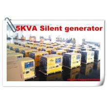 Бесшумный дизельный генератор Kaiao 5kw