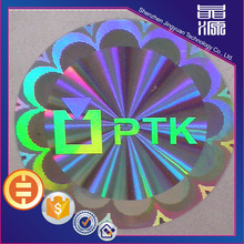 Colorful Anti-fake Hologram Sticker