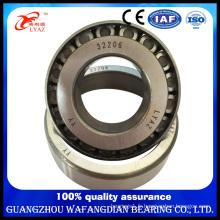 Roulement à rouleaux coniques de fournisseur de la Chine 32206