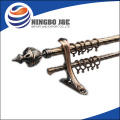 Fancy iron elegant metal curtain Poles set