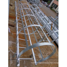 Hot DIP Galvanized Steel Stairway Cat Ladder Cage Ladder