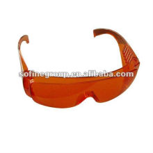 Dental Protection Glasses,Dental Dark Red Protective Glasses