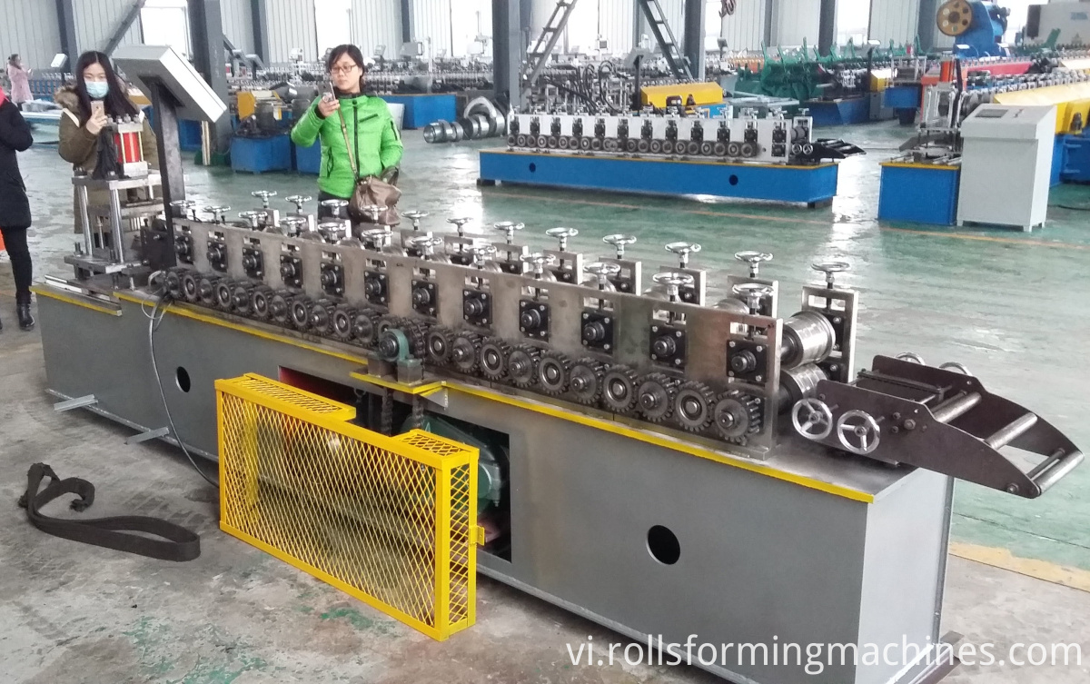 Fast Speed Roller Shutter Door Forming Machine