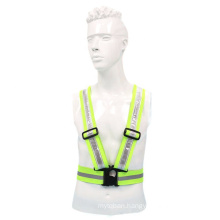 JB Mine Construction Safety Protection Reflective Jacket 120MAH Battery Recycled ABS Buckle, reflective cropped jacket/