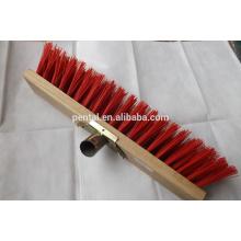 Cabeça de escova de madeira exterior de 400mm para limpeza