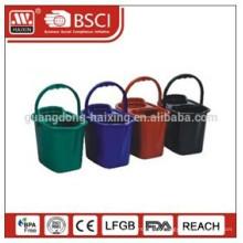 plastic mop bucket w/wringer