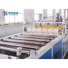 Линия по производству гофрированной плитки из ПВХ
