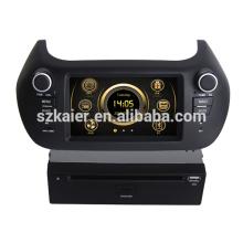 En dash dual core wince HD voiture multimédia central pour Fiat Fiorino avec GPS / 3G / Bluetooth / TV / IPOD / RDS