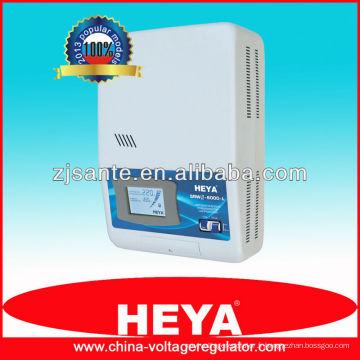 SRWII-6000-L Régulateur de tension de commande de relais monté sur écran LCD