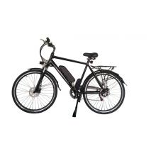 Six speed 28 Inch aluminum frame electric bicycle