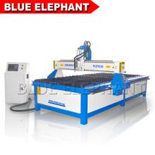 Chine machine cnc professionnelle, cnc plasma machine de découpe en métal 1530