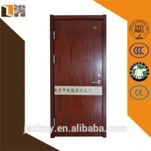 Diseño profesional madera cortafuego puerta, prueba de fuego, fuego clasificado puerta de madera
