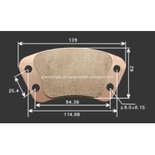 Botão de embreagem de bronze