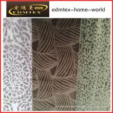 Embossed Velvet 100% Polyester Textile Fabric (EDM5115)