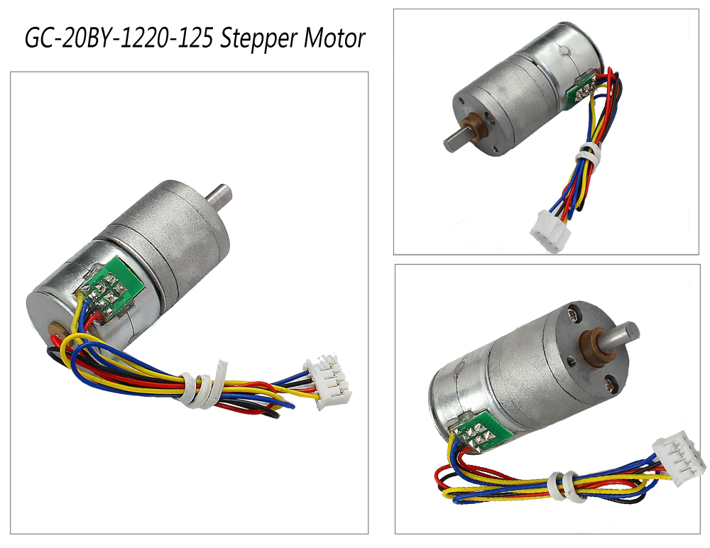 STEPPR GEARED MOTOR
