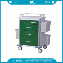 AG-GS002 Hospital Stainless Steel Trolley