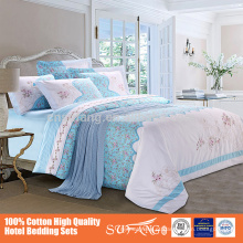 Multifuncional imitação de retalhos de algodão estampado quilt 4 pcs tampa de cama