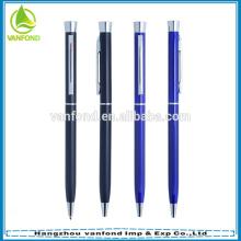 Personalizado de metal fino caneta promocional