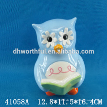 Lovely Keramik Eule Figur