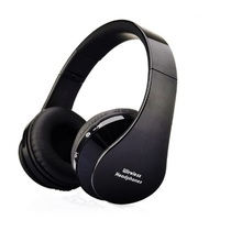 Cuffie stereo bluetooth wireless super bass pieghevoli