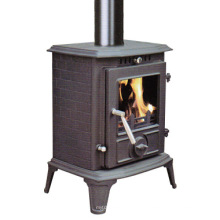 Small Modern Cast Iron Stove (FIPA060) , Small Wood Stove